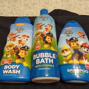 Buy 3 For 1 NIP Nickelodeon Bath Set
